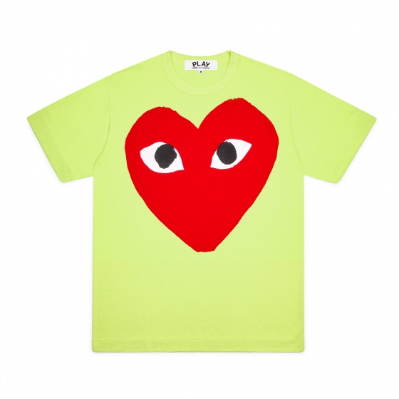 Mens Tee - Large Red Heart