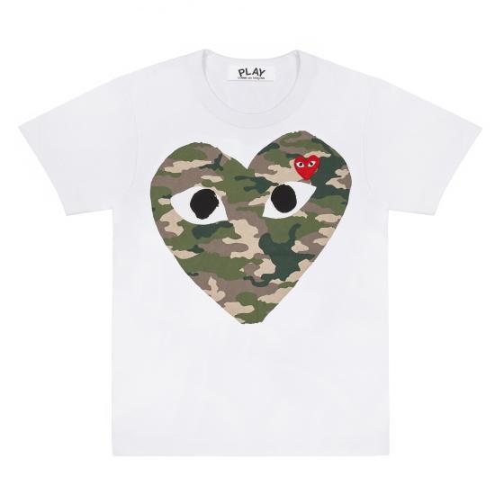 Mens Tee - Camouflage Heart