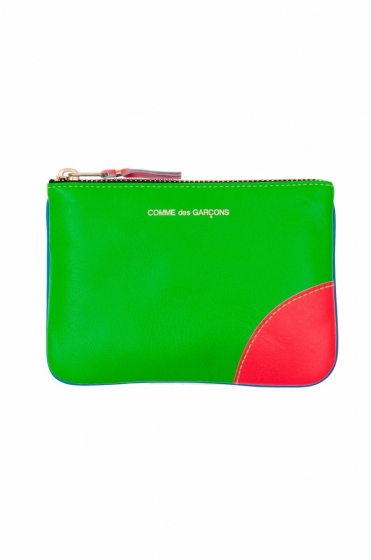 Small Fluro Zip Purse