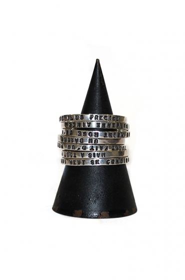 Ring Set x 7 Edmond Rostand