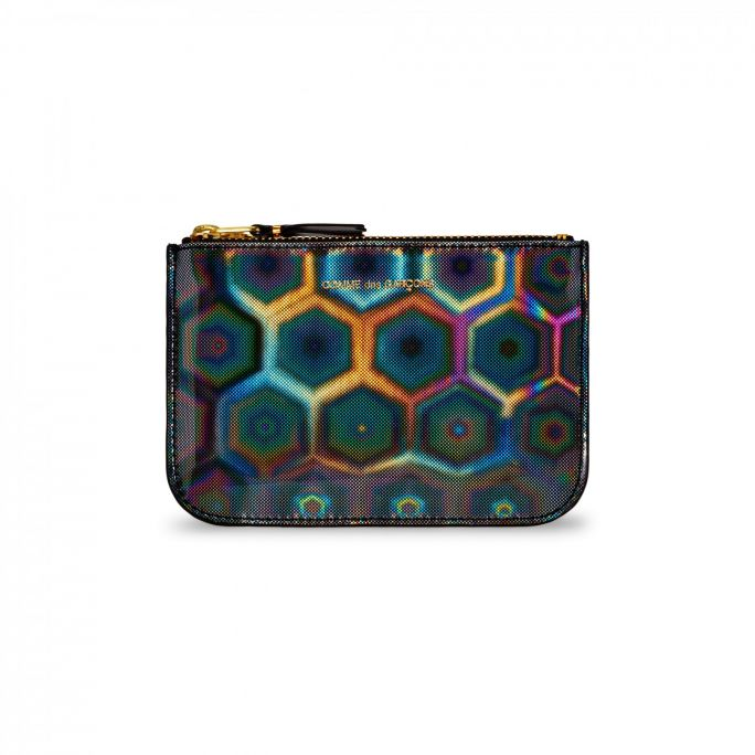 Rainbow Zip Purse Small
