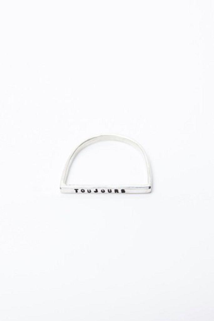 Forever Bar Ring