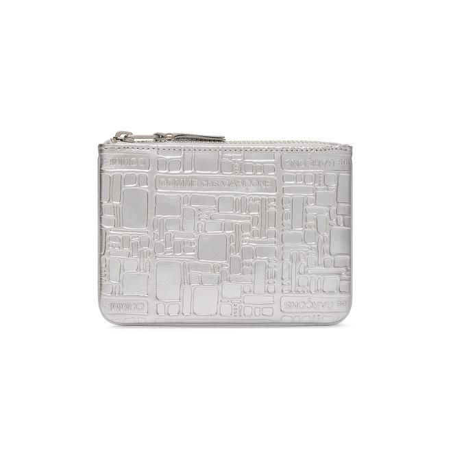 Small Embossed Zip Purse