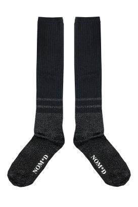 Two Stripe Tall Socks